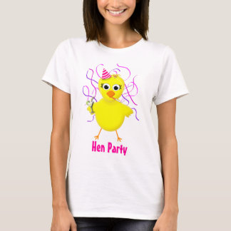 Henne-Party - Braut - lustiges T-Shirt