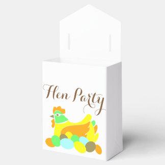 Henne-Party Geschenkkartons