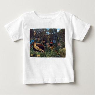 Henri Rousseau der Traum - Tiere der Baby T-shirt