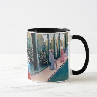Henri Rousseau - die Luxemburg-Gärten Tasse