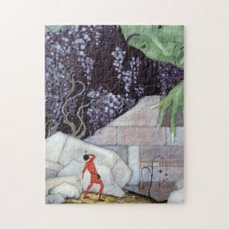 Henry und der Riese durch Virginia Frances Puzzle