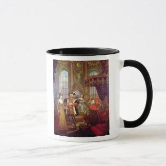 Henry VIII einführenanne boleyn am Gericht Tasse
