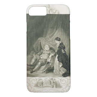 Henry VIII und Catherine Parr, im Spiel Henry V iPhone 8/7 Hülle