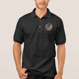 Hep Katzen-Band Polo Shirt