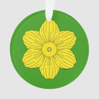 Heraldische Narzisse Ornament
