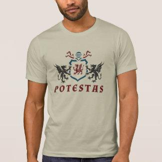 Heraldischer Drache Potestas T-Shirt
