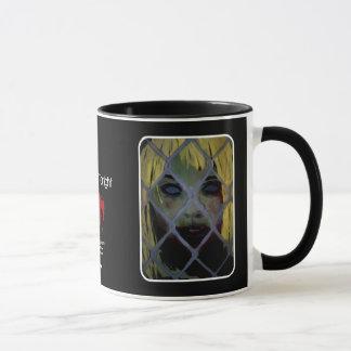 """""""Herausgekommene heute Abend"""" Zombie-Tasse Tasse"""