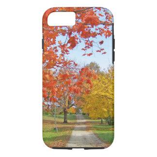 Herbst-Blätter-Fall iPhone 8/7 Hülle