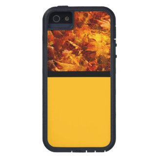 Herbst-Blätter in der Orange und im Gelb iPhone 5 Case