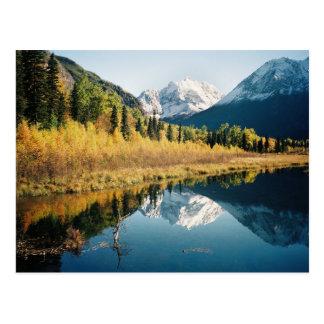 Herbst-Eagle River Tal Postkarten