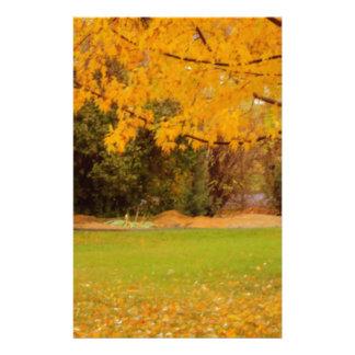 Herbst-Farben Briefpapier