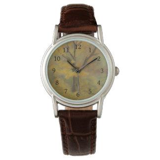 Herbst-Goldarmbanduhr Armbanduhr