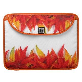 Herbst/Herbstlaub feuert FarbeMacbook Prohülse ab Sleeve Für MacBook Pro
