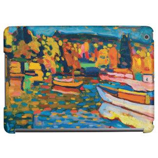 Herbst-Landschaft mit Booten durch Wassily