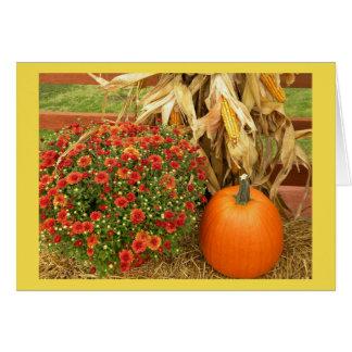 Herbst-Prämien-Erntedank Karte
