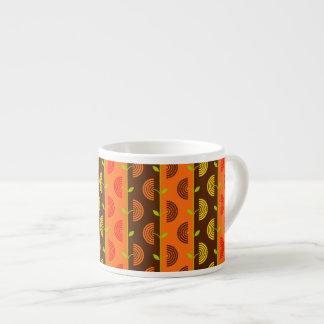 Herbst-Thema-Muster Espressotasse