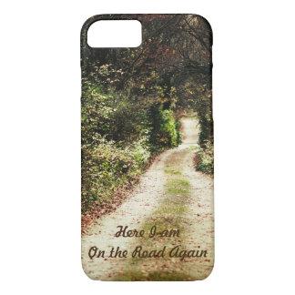 Herbst-Waldweg-Natur-Schönheits-kundengerechter iPhone 8/7 Hülle