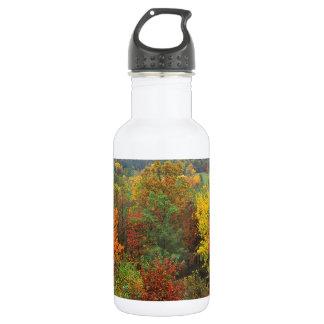 Herbst-weiße Kirche in Carolina Trinkflasche