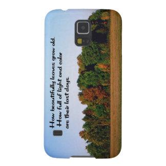 Herbstfarben, Herbst Galaxy S5 Cover