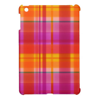 Herbstfarben kariert iPad mini schale