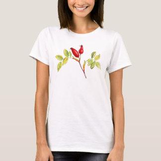 Herbstlicher T - Shirt des botanischen Falles der