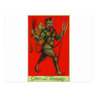Here comes the Krampus! Post Cards