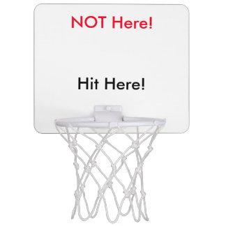 HereNotHereHoop Mini Basketball Ringe