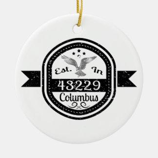 Hergestellt in 43229 Columbus Keramik Ornament
