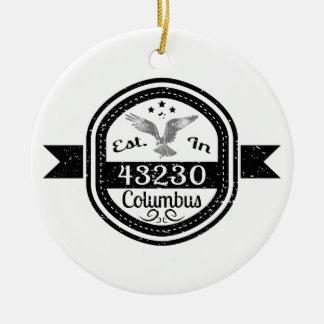 Hergestellt in 43230 Columbus Keramik Ornament