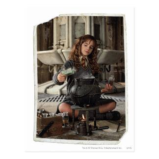 Hermione 20 postkarte