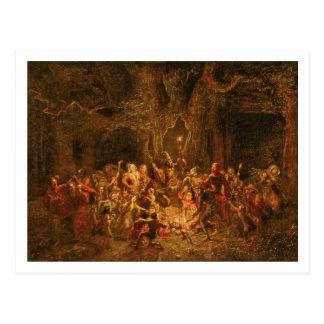 """Hernes Eiche """"von den fröhlichen Ehefrauen von Postkarte"""