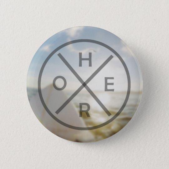 Hero-Ansteckbutton Runder Button 5,1 Cm