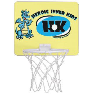 Heroische innere Kinder Mini Basketball Ringe