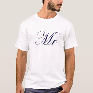 Herr-Blau T-Shirt