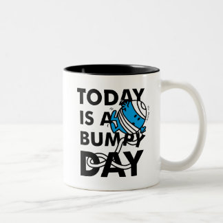 Herr Bump | ist heute ein holperiger Tag Zweifarbige Tasse