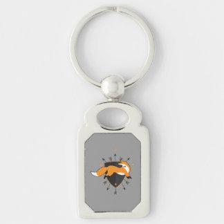 Herr Fox 81 Keychain Schlüsselanhänger