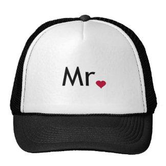 Herr - Hälfte von Herrn und von Frau Set Tuckercaps