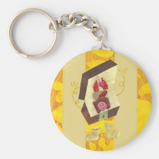 Herr Innere - bemannen Sie heraus Schlüsselring Schlüsselanhänger