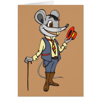 Herr-Maus Mitteilungskarte