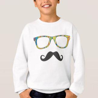 Herr Moustache Hipster Sweatshirt