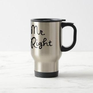 Herr Right Coffee Mug Edelstahl Thermotasse