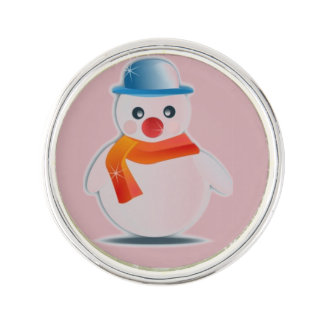 Herr Snowman Anstecknadel