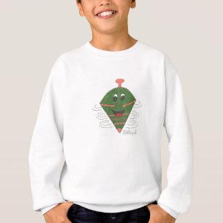 Herr Topper, den ein Spaßspielzeug um schnelles Sweatshirt