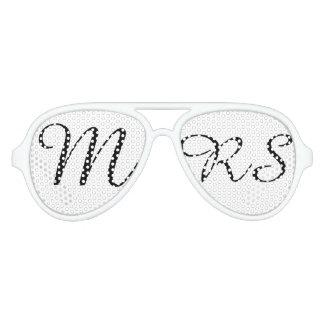 Herr und Frau   elegantes modernes Piloten Sonnenbrillen