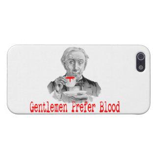 Herren bevorzugen Blut iPhone 5 Schutzhüllen