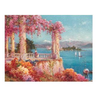 Herrliche italienische Seen Postkarte
