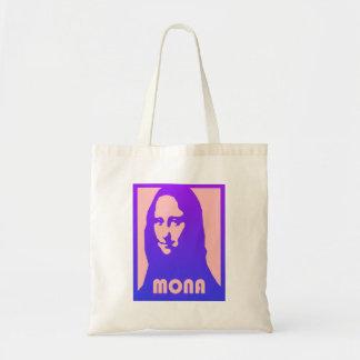 Herrliche Pop-Kunst-Art-Mona Lisa Druck-Tasche Tragetasche