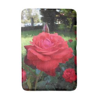 Herrliche Rote Rosen Badematte