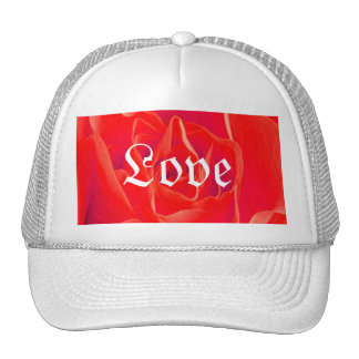Herrliche rote Rote Rose Baseball Cap