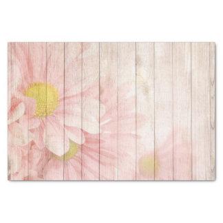 Herrliche rustikale Blumenszene Seidenpapier